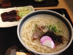 名古屋きしめんと味噌カツ.JPG